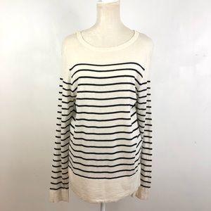 Sandro Paris Striped Pullover Sweater